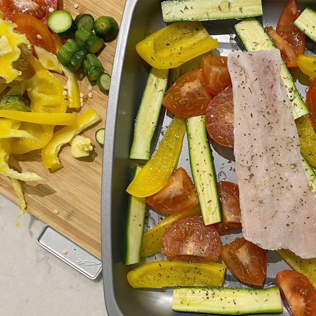 Cod and Veg weaning recipe