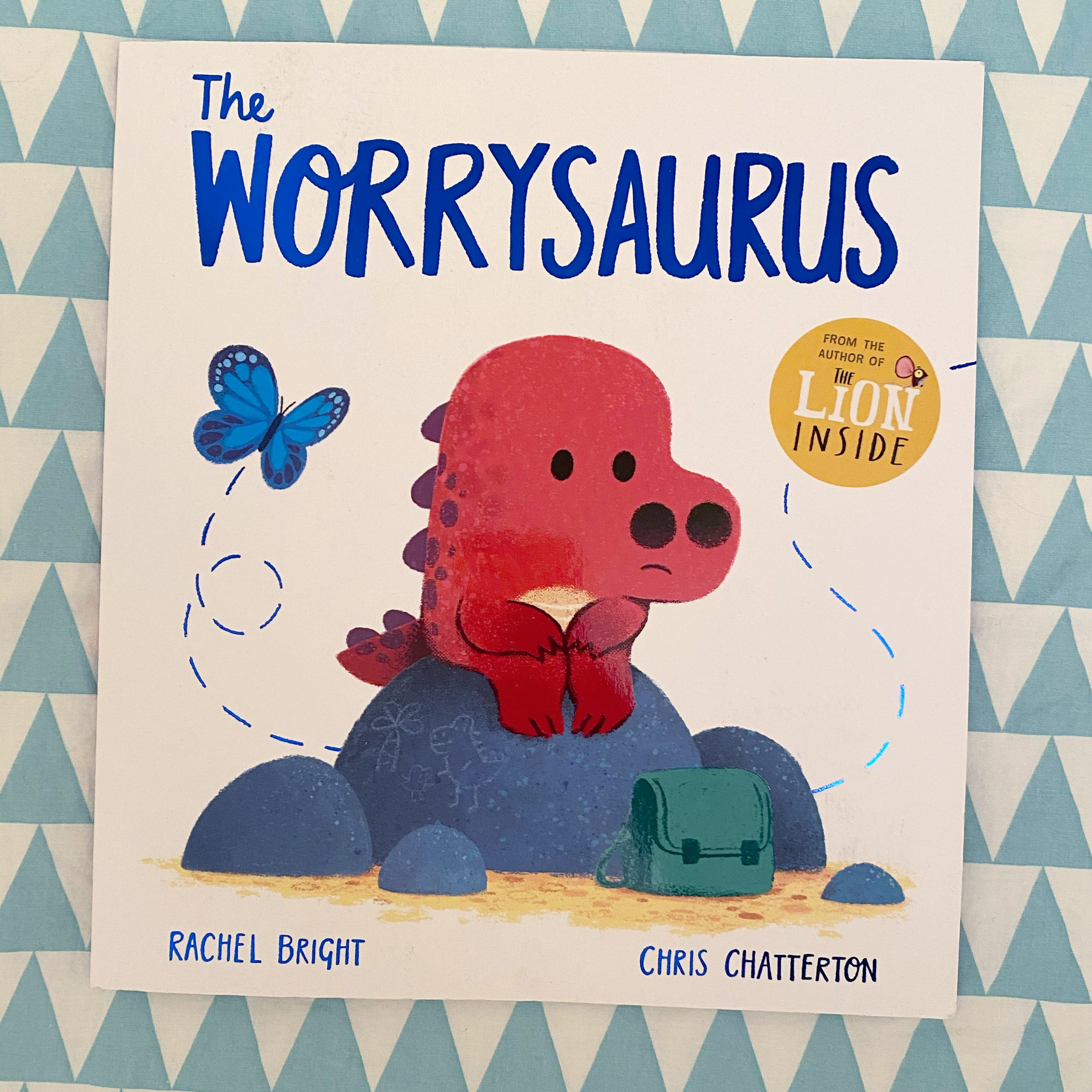 The worrysaurus book